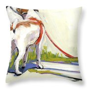 Curbside Throw Pillow