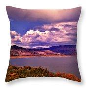 Curecanti Autumn Blue Mesa Colorado Throw Pillow