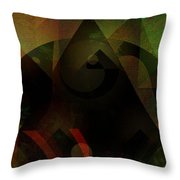 Curiosity Smelled A Rat Throw Pillow by Mimulux patricia no No