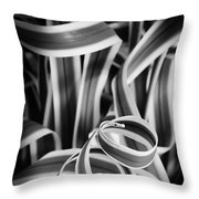Curley Q Throw Pillow