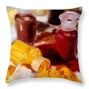 Curry Powder Throw Pillow