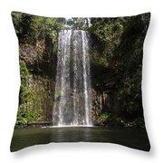 Curtain Falls Throw Pillow