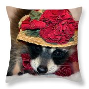 Curtsey Throw Pillow