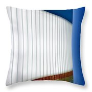 Curve Appeal Throw Pillow