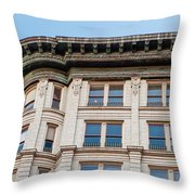 Curved Corner Throw Pillow