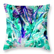 Curves Of Wonder Throw Pillow