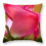 Curvy And Beautiful Throw Pillow
