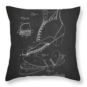 Cushion Insole For Shoes Patent Drawing From 1905 Throw Pillow