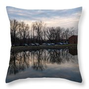 Cushwa Basin C And O Canal Throw Pillow