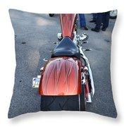 Custom Bike Throw Pillow