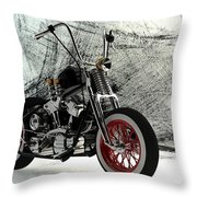 Custom Bobber Throw Pillow
