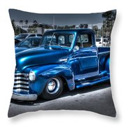Custom Chevy Pickup Throw Pillow