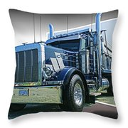 Custom Dump Truck Throw Pillow