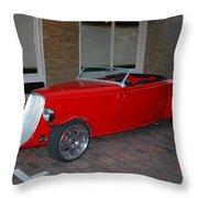 Custom Hotrod Throw Pillow