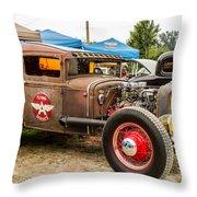 Custom Truck Throw Pillow