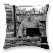 Customer Service Throw Pillow