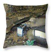 Customized Remington 870 Super Mag Express Throw Pillow