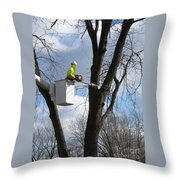 Cut Complete Throw Pillow