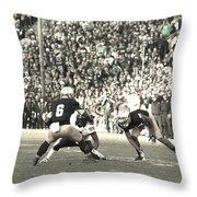 Cutback Throw Pillow