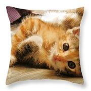 Cute Be Mine Throw Pillow