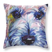 Cutey Face Throw Pillow
