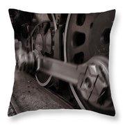 Cutting Through The Steam Throw Pillow