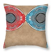 Cyberkiss Throw Pillow