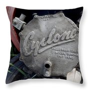 Cyclone Picking Throw Pillow