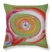 Cyclone Ride Throw Pillow