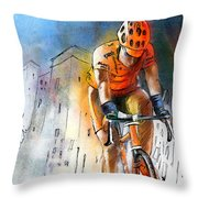 Cycloscape 01 Throw Pillow