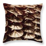 Cymbalogy Throw Pillow