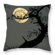 Cypress Moon Throw Pillow