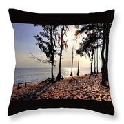 Cypress Shore Throw Pillow