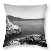 Cypress Tree At The Coast, The Lone Throw Pillow