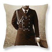 Czar Alexander IIi  Throw Pillow
