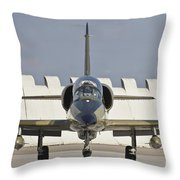 Czech Air Force L-39za Albatros Throw Pillow