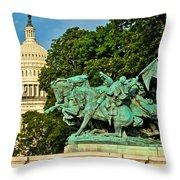 D C Monuments 1 Throw Pillow