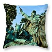 D C Monuments 4 Throw Pillow