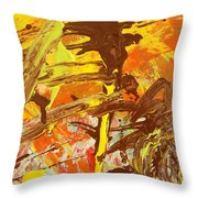 D Competition Throw Pillow
