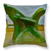 D-day Memorial For Juno Beach Heros Throw Pillow