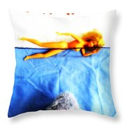 Da Dum...da Dum... Throw Pillow