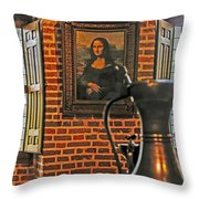 Da Vinci's Beauty Throw Pillow