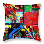 Daas 17a Throw Pillow