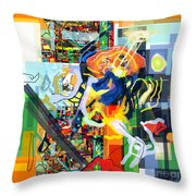Daas 17i Throw Pillow