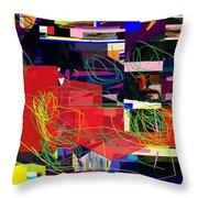 Daas 2 Daas 6a Throw Pillow by David Baruch Wolk