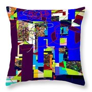 Daas 3 Throw Pillow by David Baruch Wolk