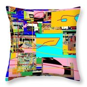 Daas 4 Throw Pillow by David Baruch Wolk