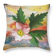 Texas Wildflowers Tp X Throw Pillow
