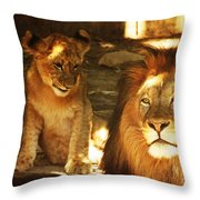 Daddy I Love You Throw Pillow