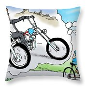 Daddy's Home Father And Son Dream Throw Pillow